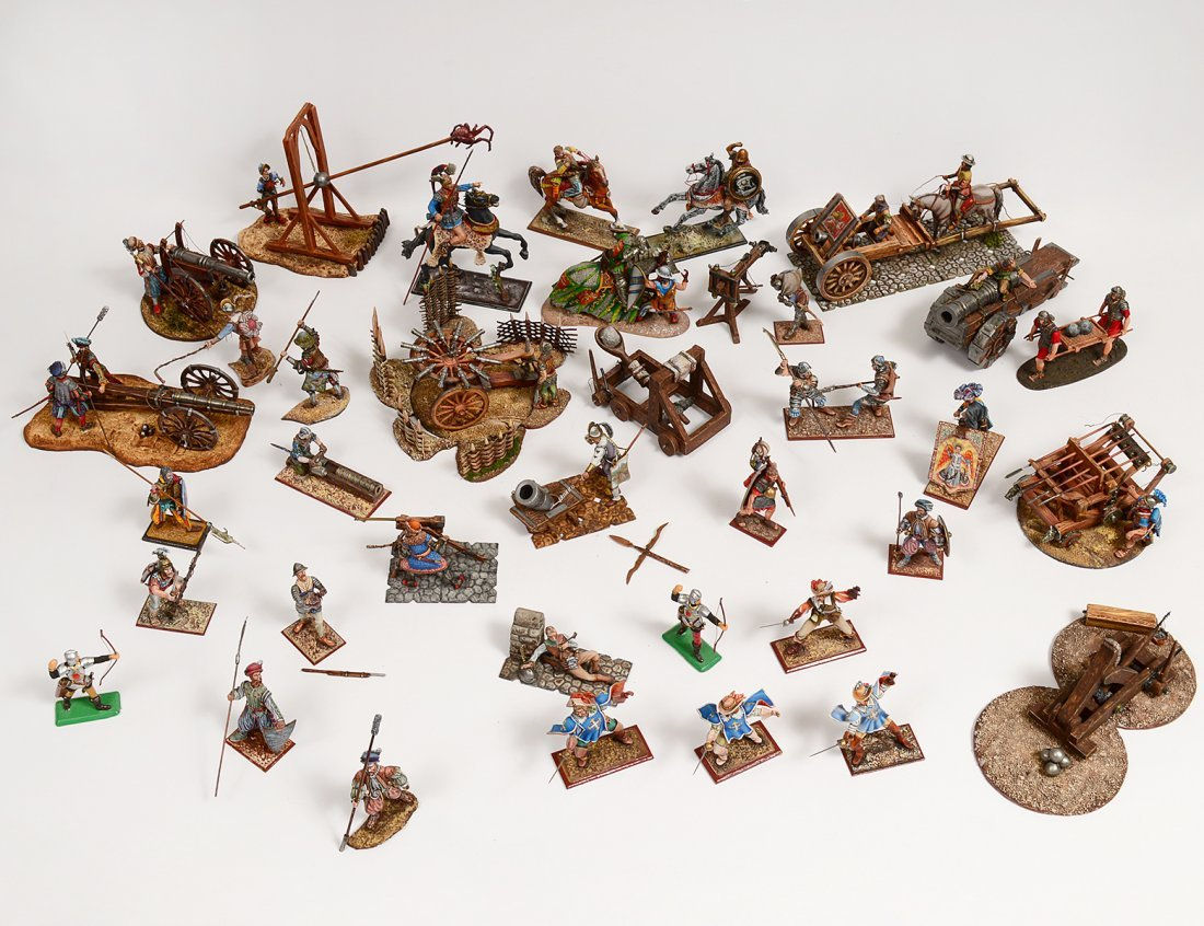 COLLECTION OF THIRTY-SIX TOY SOLDIERS