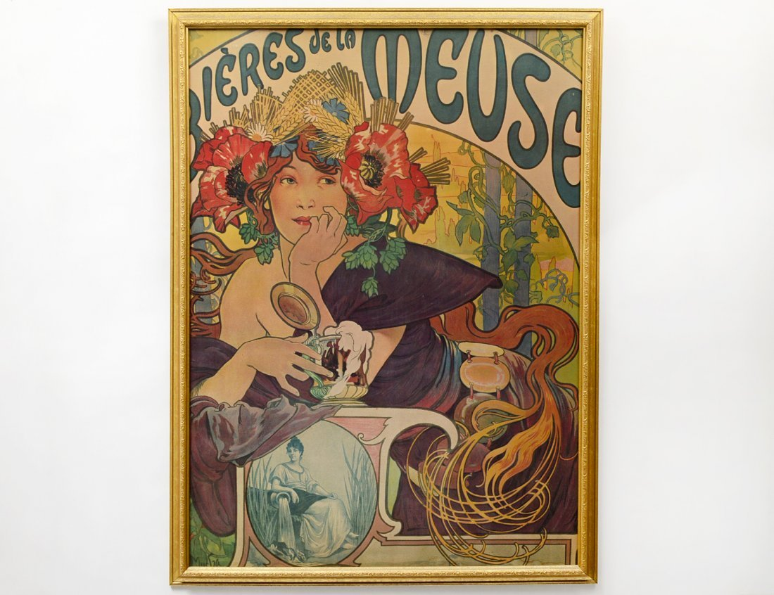 AFTER ALPHONSE MUCHA (French. 1860-1939)