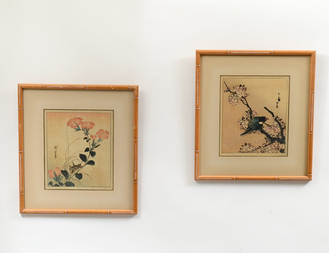 TWO CHINESE COLOR PRINTS