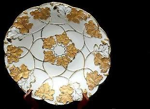 Meissen Gilded Dish
