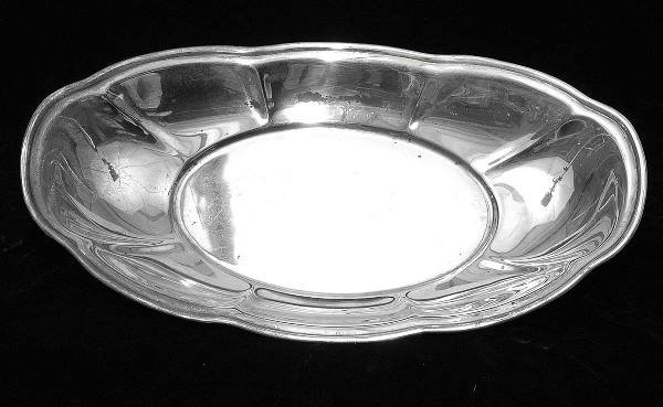 23: Sterling Bread Tray