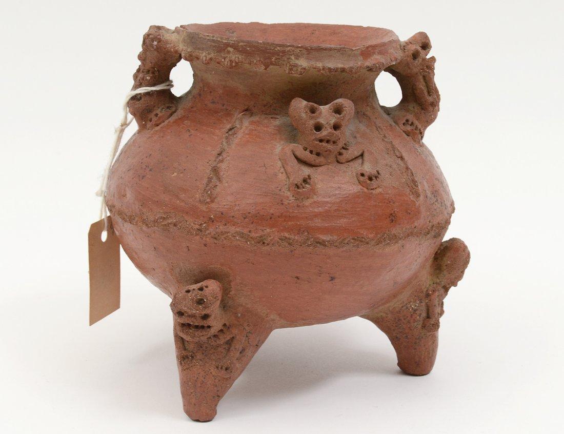 PRE-COLUMBIAN STYLE POTTERY VESSEL
