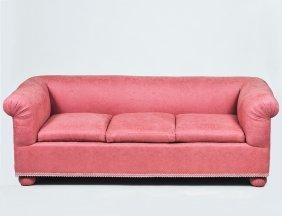 Three Seater Upholstered Sofa