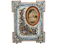 SUPERB MICRO MOSAIC PICTURE FRAME