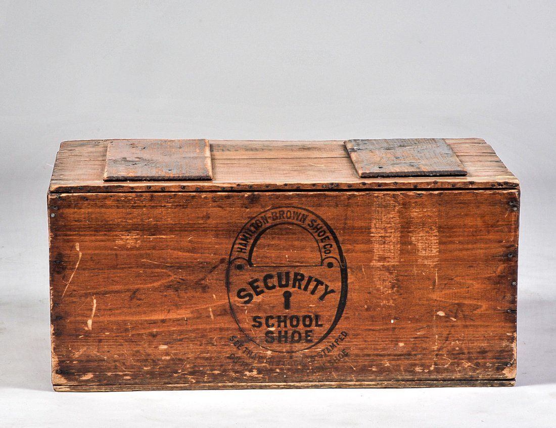 OLD NAVY WOOD SECURITY BOX