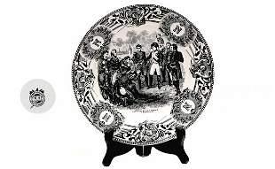 Napoleon Commemorative Plate