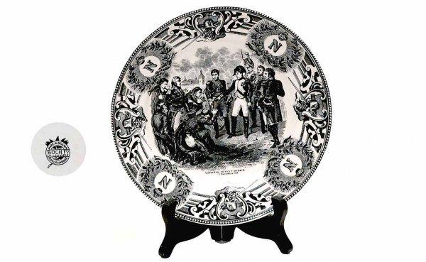 3: Napoleon Commemorative Plate
