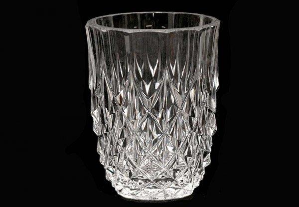 14: Val St Lambert Crystal Vase