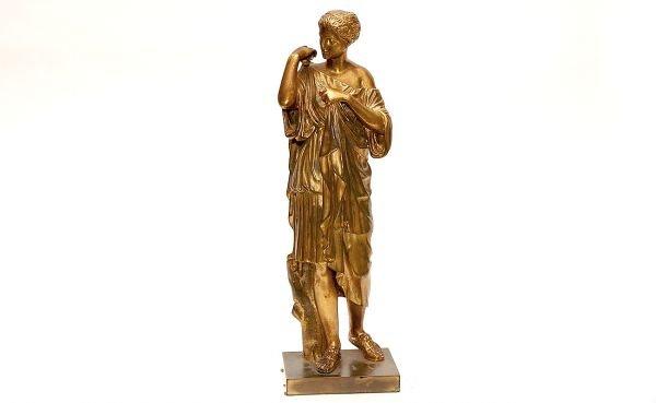 20: Gilded Bronze Classical Maiden