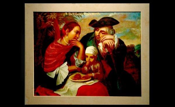 229: Spanish School Oil on Canvas on Board