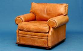 380 Ralph Lauren Leather Upholstered Armchair