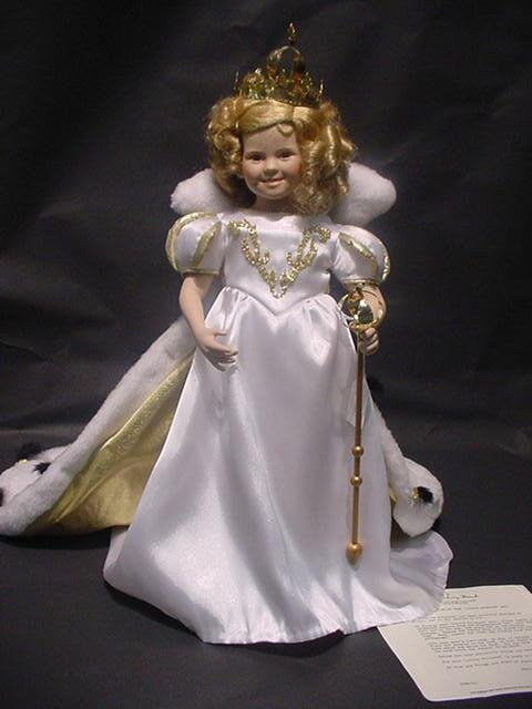 "3001: Shirley Temple Danbury Mint Doll ""Little Princess"