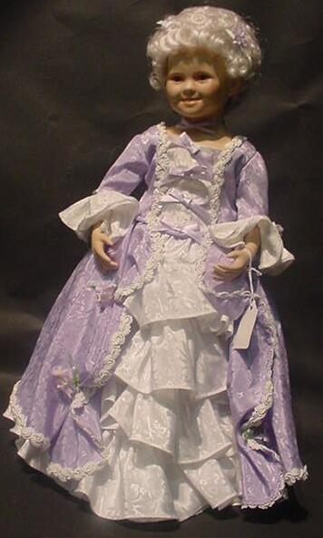"3006: Shirley Temple Danbury Mint Doll ""Heidi"" In Origi"