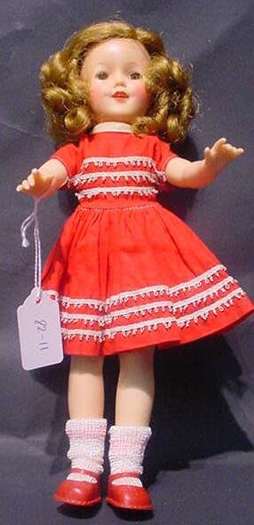 3011: Ideal Shirley Temple Doll st-12