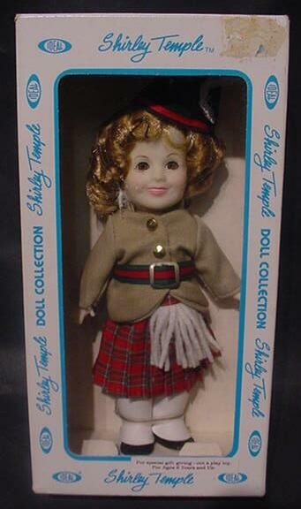 """3021: Shirley Temple """"Wee Willie Winkie"""" Doll Ideal Col"""