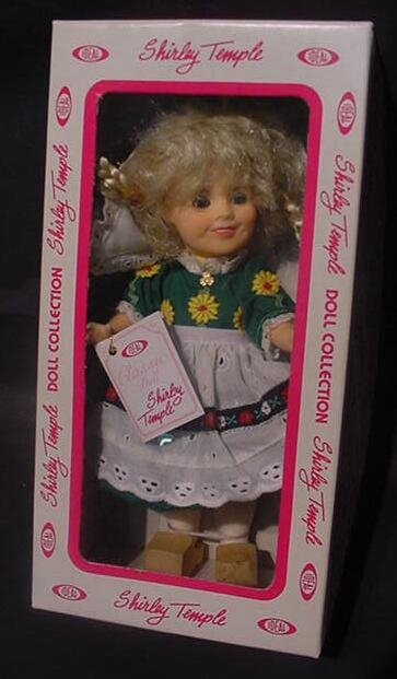 """3022: Shirley Temple """"Heidi"""" Doll Ideal Collector Serie"""