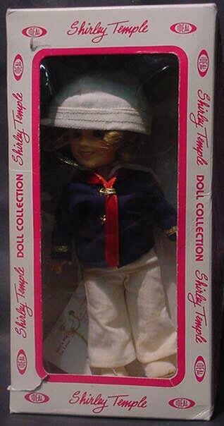 """3023: Shirley Temple """"Captain January"""" Doll Ideal Colle"""