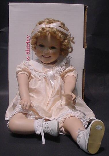 3041: Little Miss Shirley Temple Toddler Doll. Danbury