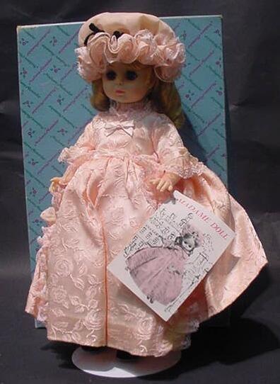 "3121: 1967 Madame Alexander ""Madame"" Doll #1561 in Orig"