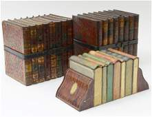 GROUP OF THREE HUNTLEY  PALMERS TIN BISCUIT BOXES