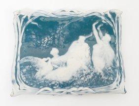 Pate Sur Pate Porcelain Tray