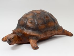 Leather Model Of A Turtle