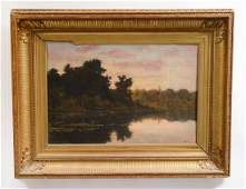 ATTRIBUTED TO CHARLES FRANCOIS DAUBIGNY French