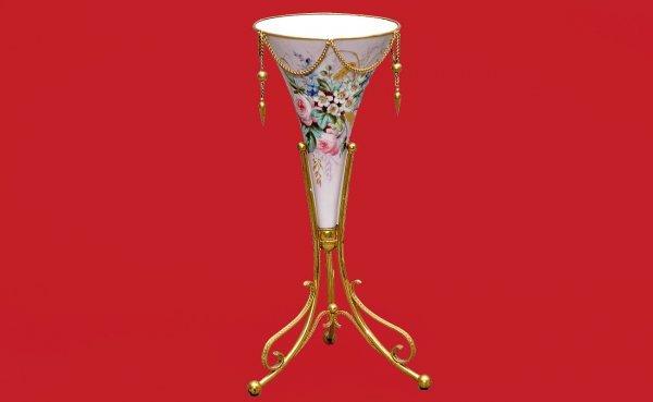 1: Antique French Porcelain Epergne