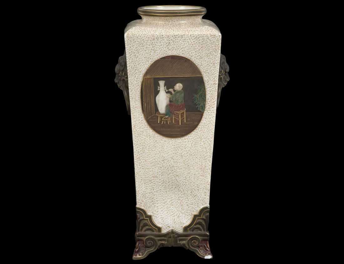 FINE ROYAL WORCESTER PORCELAIN VASE