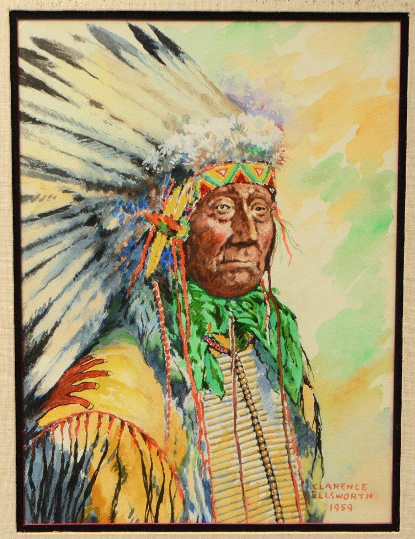 CLARENCE ELLSWORTH (American. 1885-1961) - 2