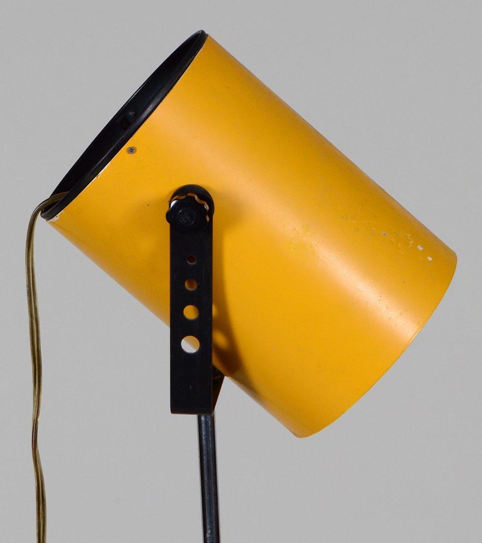 MID-CENTURY YELLOW DIRECTOR'S LIGHT - 2