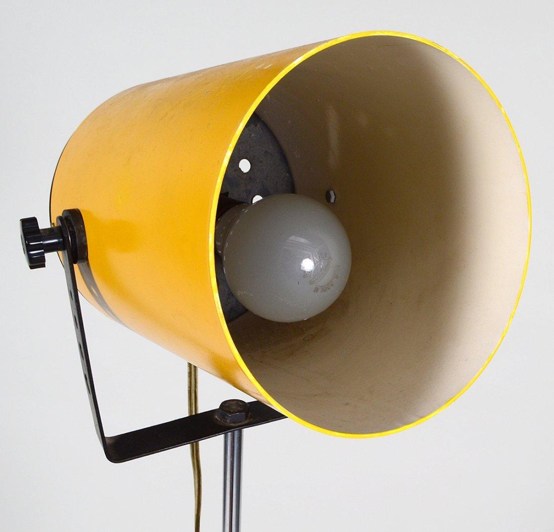 MID-CENTURY YELLOW DIRECTOR'S LIGHT - 4