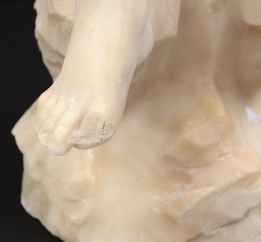 MARBLE SCULPTURE OF A CHILD - 4
