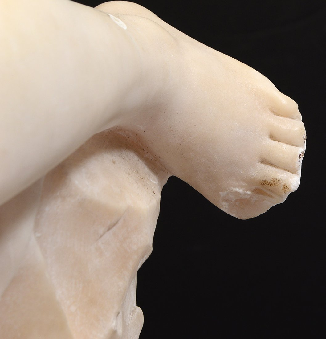 MARBLE SCULPTURE OF A CHILD - 5
