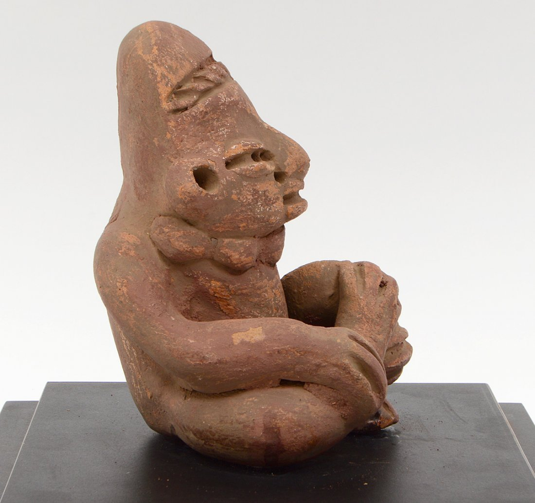 PRE-COLOMBIAN JALISCO NAYARIT SEATED POTTERY...... - 5