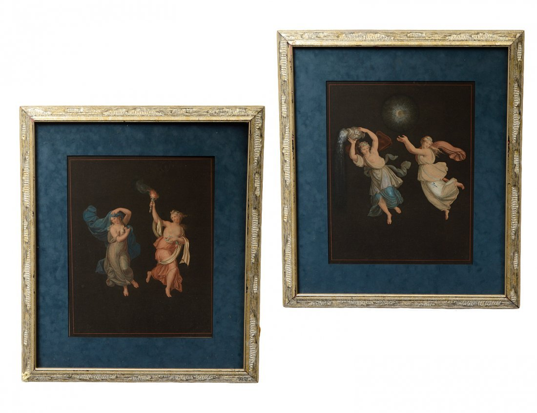 TWO COLOR PRINTS AFTER RAPHAEL (Ital. 1483-1520)