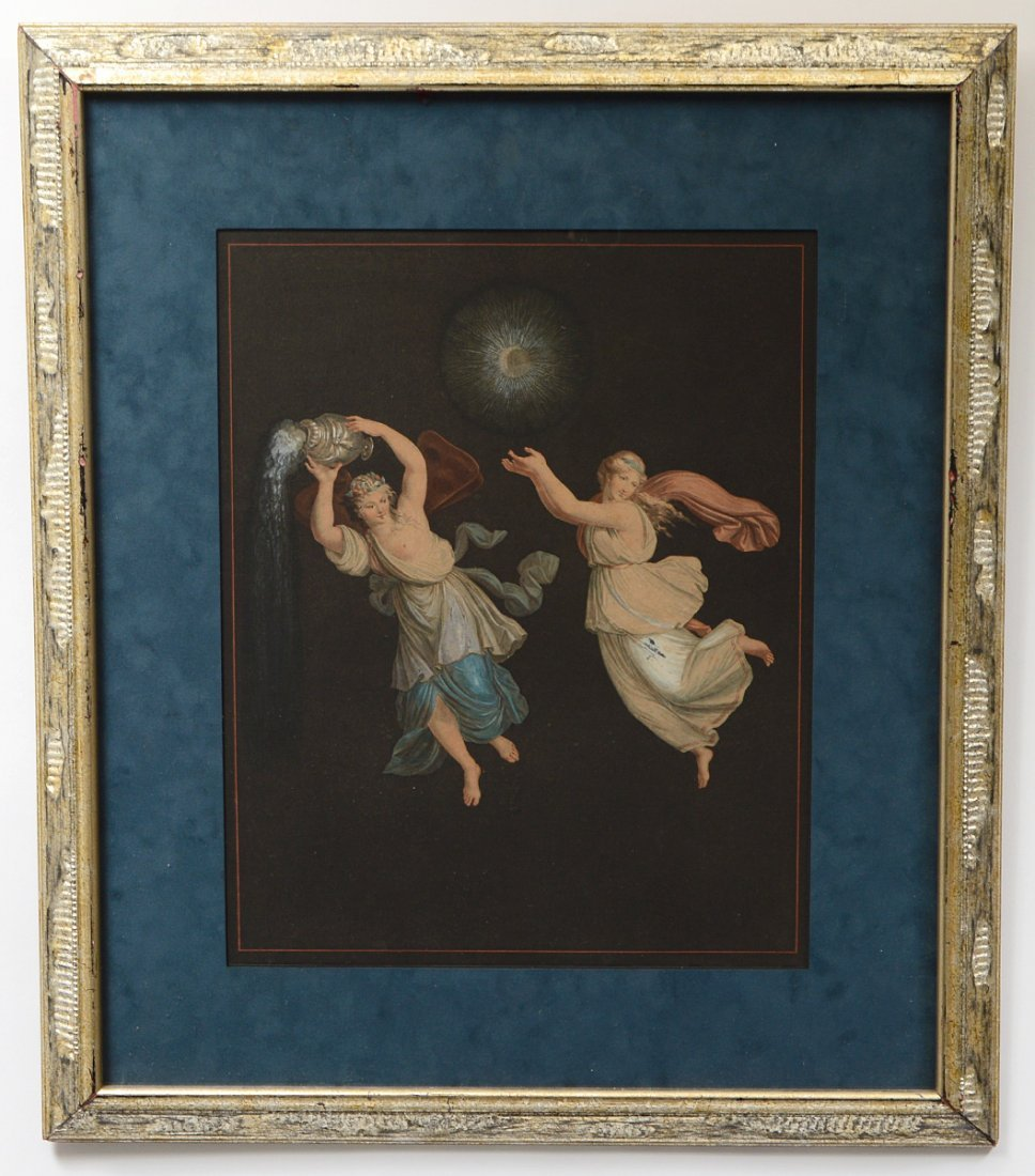 TWO COLOR PRINTS AFTER RAPHAEL (Ital. 1483-1520) - 2