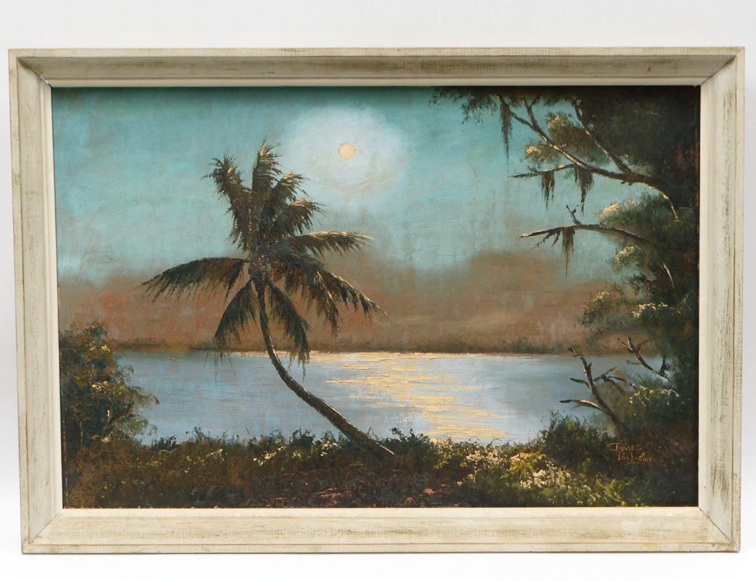 JAMES GIBSON (Florida Highwaymen. 20th Century)