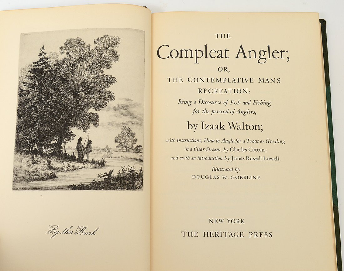 "THE COMPLEAT ANGLER: OR THE CONTEMPLATIVE RECREATION"" - 2"