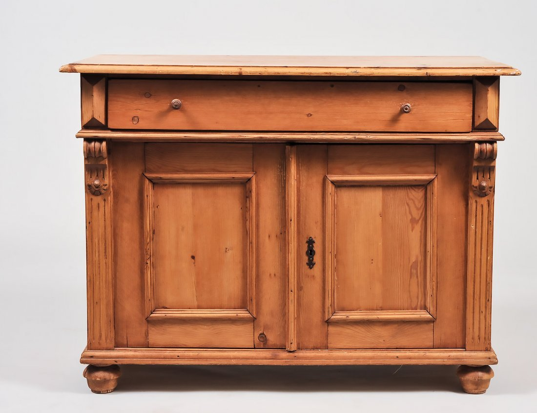 GEORGE III STYLE PINE CABINET