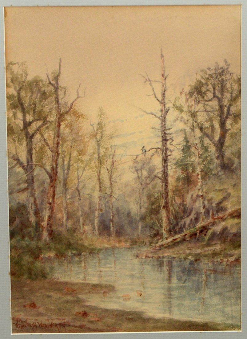 WEDWORTH WADSWORTH (American. 1846-1927) - 2