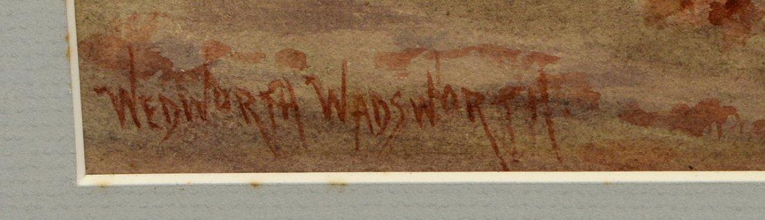 WEDWORTH WADSWORTH (American. 1846-1927) - 3