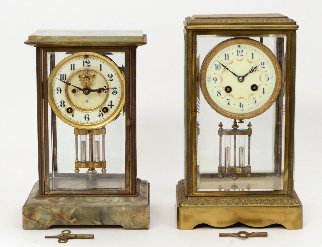 TWO REGULATOR CLOCKS
