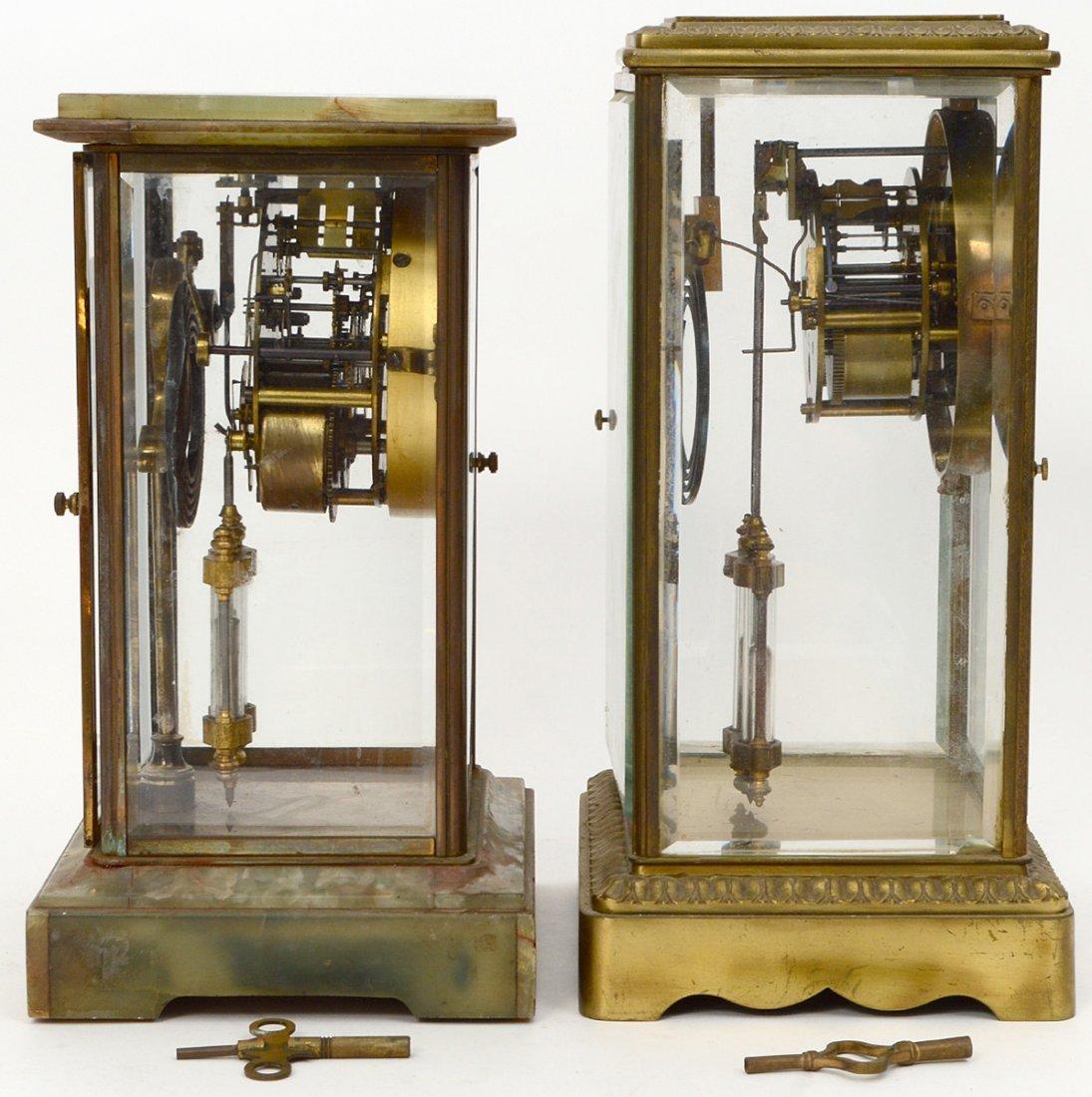 TWO REGULATOR CLOCKS - 4