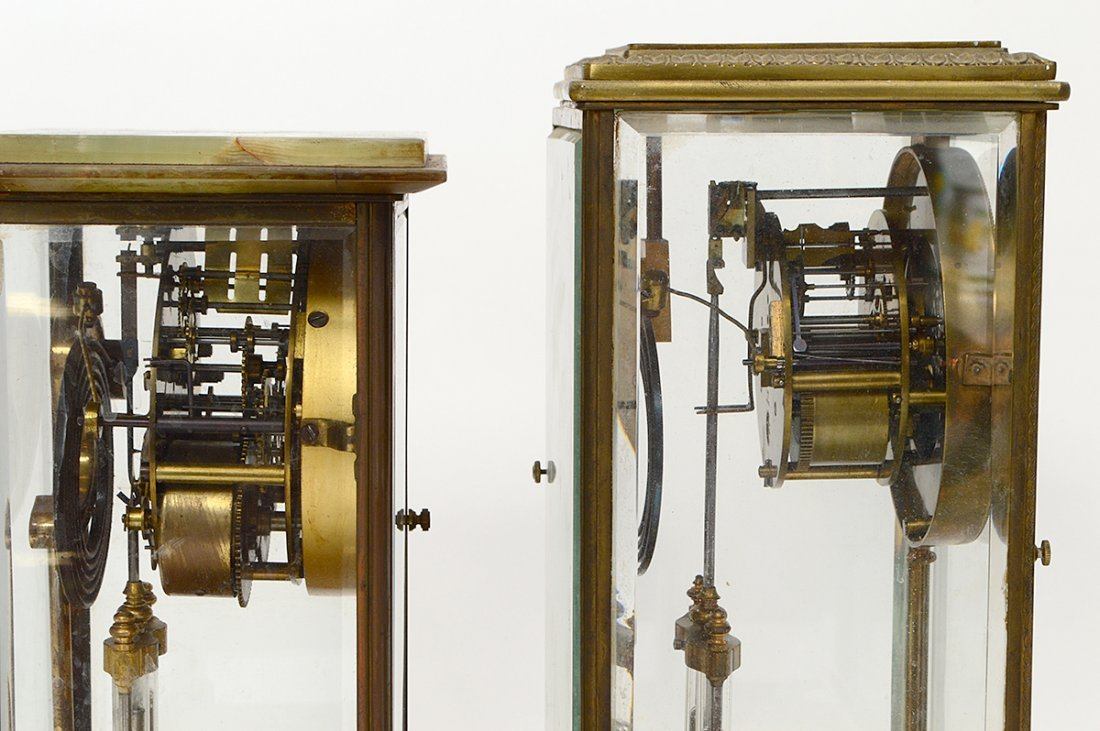 TWO REGULATOR CLOCKS - 5