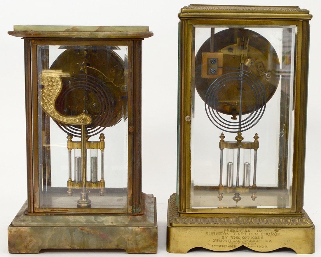 TWO REGULATOR CLOCKS - 6