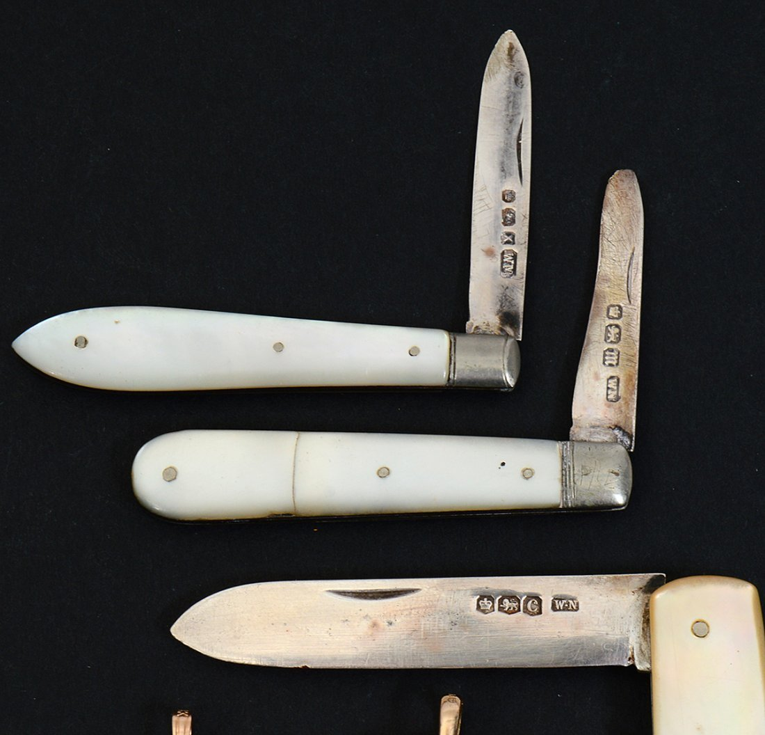 GROUP OF NINE POCKET KNIVES - 2
