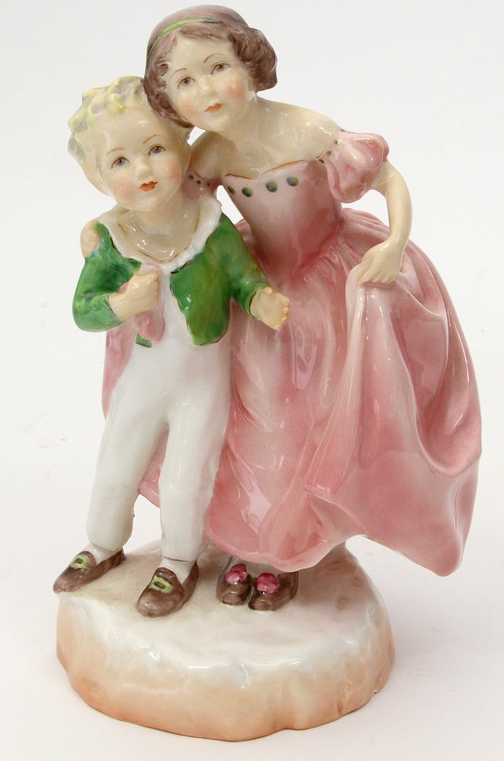 GROUP OF FOUR ROYAL WORCESTER FIGURES - 3