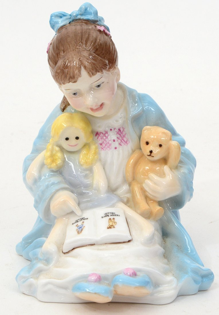 GROUP OF FOUR ROYAL WORCESTER FIGURES - 5