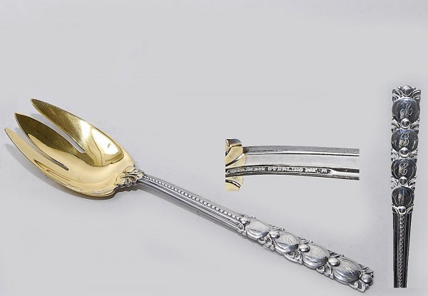 7: Tiffany Sterling Silver Large Spoon